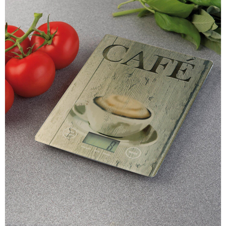 Wenko Kuchenwaage Slim Cafe 1 2 Cm X 14 Cm X 19 5 Cm Kaufen Bei Obi