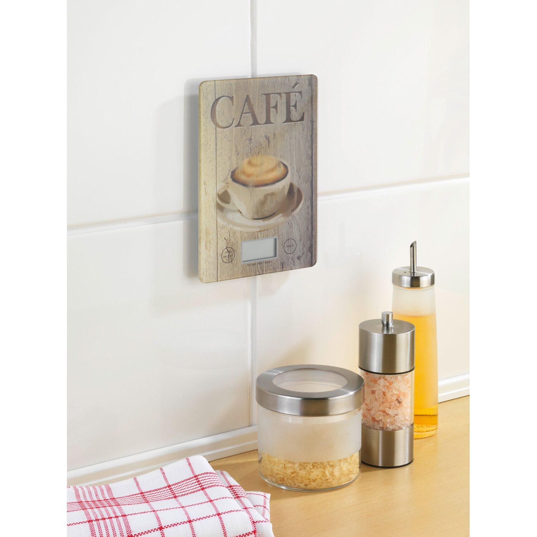 Wenko Küchenwaage Slim Café 1,2 cm x 14 cm x 19,5 cm kaufen bei OBI