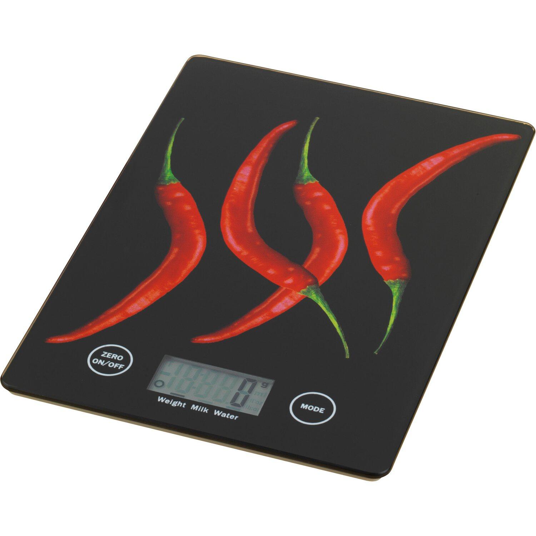 Wenko Küchenwaage Slim Peperoni 1,2 cm x 14 cm x 19,5 cm kaufen bei OBI