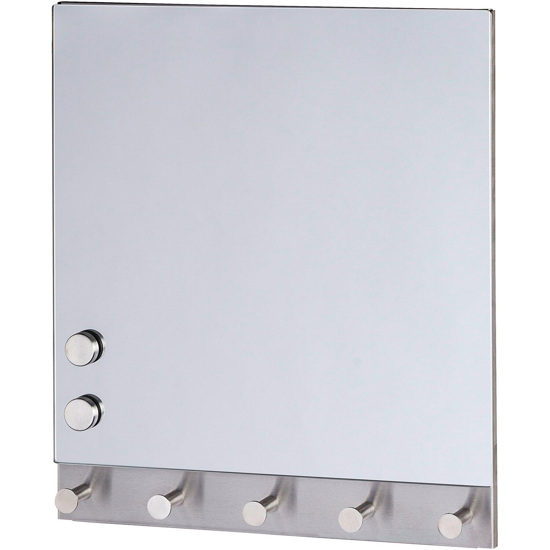 Wenko Magnetische Garderobe Mirror 5 Haken 30 cm x 34 cm