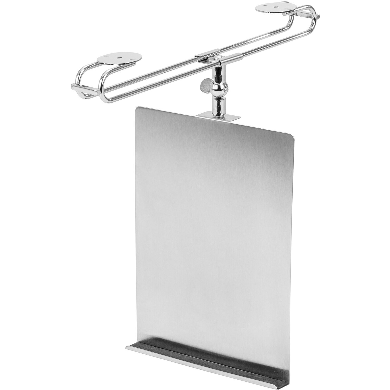 Wenko Tablet- & Kochbuchhalter Silber 2 cm x 24 cm x 18,5 cm