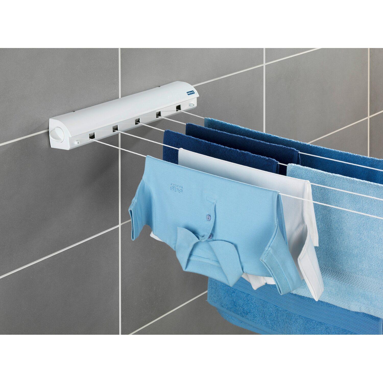 wenko wand w scheleinen ausziehbar wei 7 cm x 47 5 cm x 7 cm kaufen bei obi. Black Bedroom Furniture Sets. Home Design Ideas