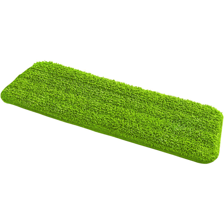 Wenko Ersatzbezüge für Sprüh-Mop Grün 4er Set 1 cm x 43 cm x 14,5 cm