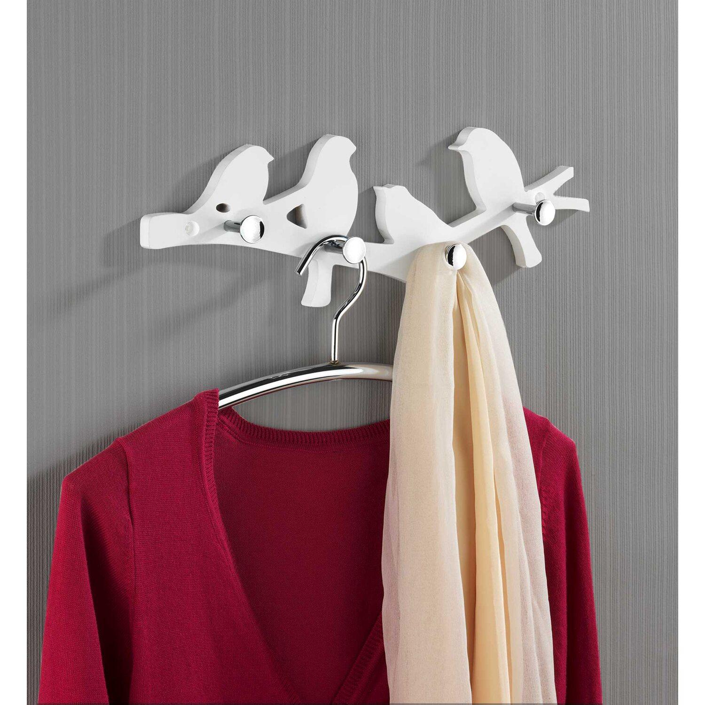 Wenko wand garderobe v gel wei 4 5 cm x 39 cm x 15 cm for Obi garderobe
