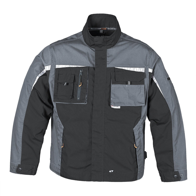 d28d001cbbb1 Herren Jacke TT Job Revolution Schwarz-Grau Gr. 50 kaufen bei OBI
