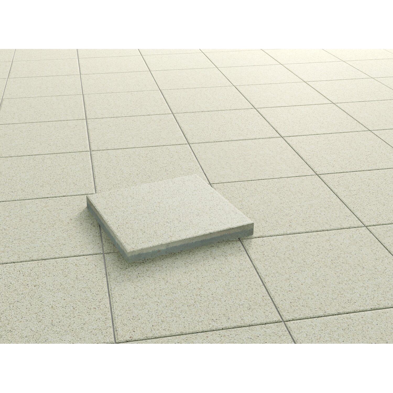 terrassenplatte beton luzern sandbeige geschliffen und impr gniert 40x40x3 8 cm kaufen bei obi. Black Bedroom Furniture Sets. Home Design Ideas