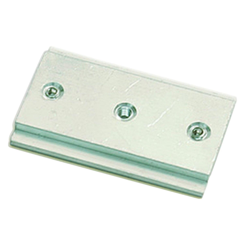 Gardinia Schienenverbinder Silber 5 cm