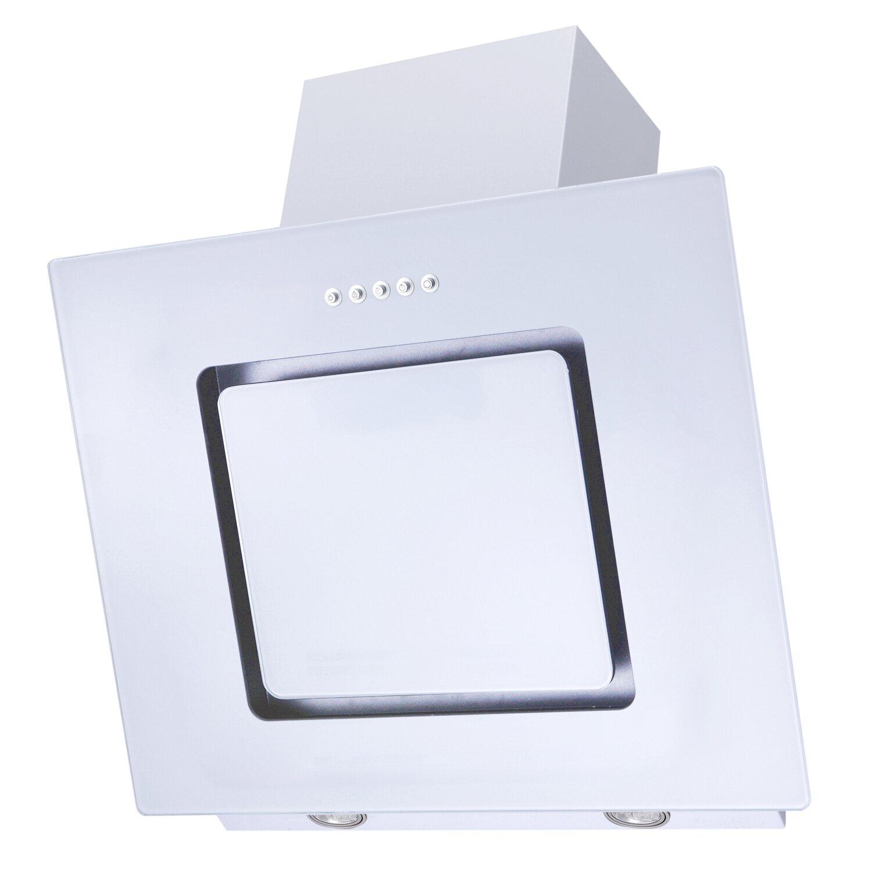 respekta schräghaube ch-22010wx eek: b 60 cm glas weiß kaufen bei obi