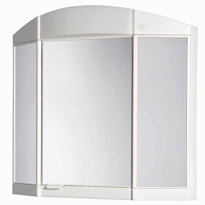jokey spiegelschrank eek a b antaris 65 cm wei kaufen bei obi. Black Bedroom Furniture Sets. Home Design Ideas