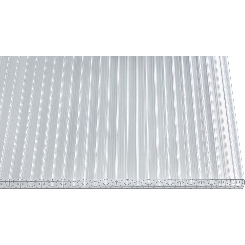 Hohlkammerplatte Thermo 25 mm Sun Weiß/Opal 2500 mm x 1200 mm Preisvergleich