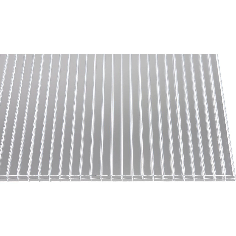 hohlkammerplatte easy clean 16 mm klar 2000 mm x 980 mm kaufen bei obi. Black Bedroom Furniture Sets. Home Design Ideas