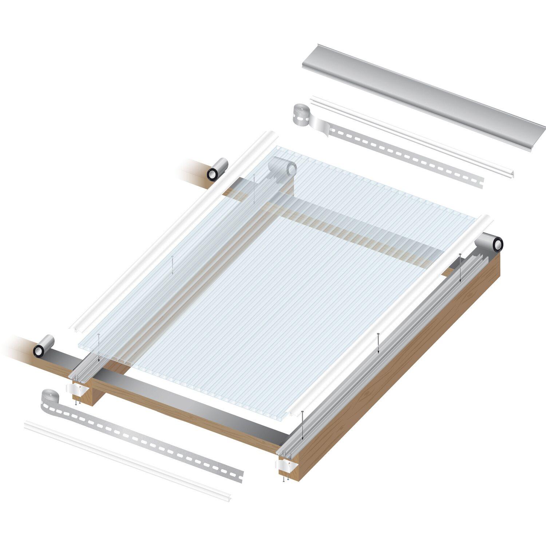 hohlkammerplatte 16 mm wei opal 4000 mm x 980 mm kaufen. Black Bedroom Furniture Sets. Home Design Ideas