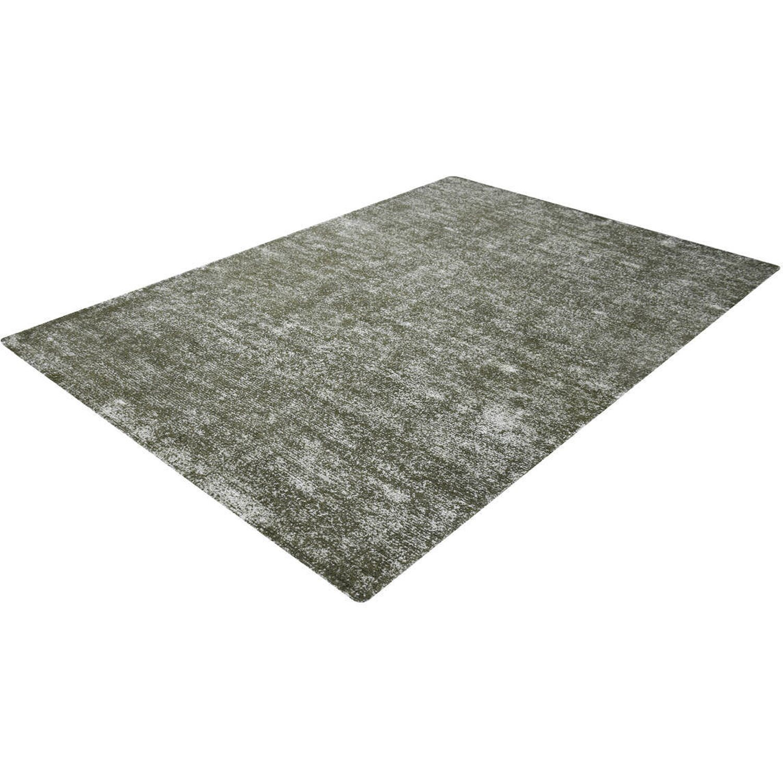 Kayoom Teppich Etna 110 Silber-Oliv 80 cm x 150 cm   Heimtextilien > Teppiche > Sonstige-Teppiche   Hochglanz   Hochglanz - Poliert - Polyester   Kayoom