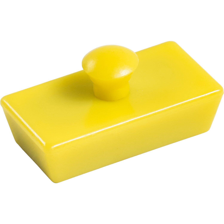 lux magnete rechteckig gelb 4 st ck kaufen bei obi. Black Bedroom Furniture Sets. Home Design Ideas