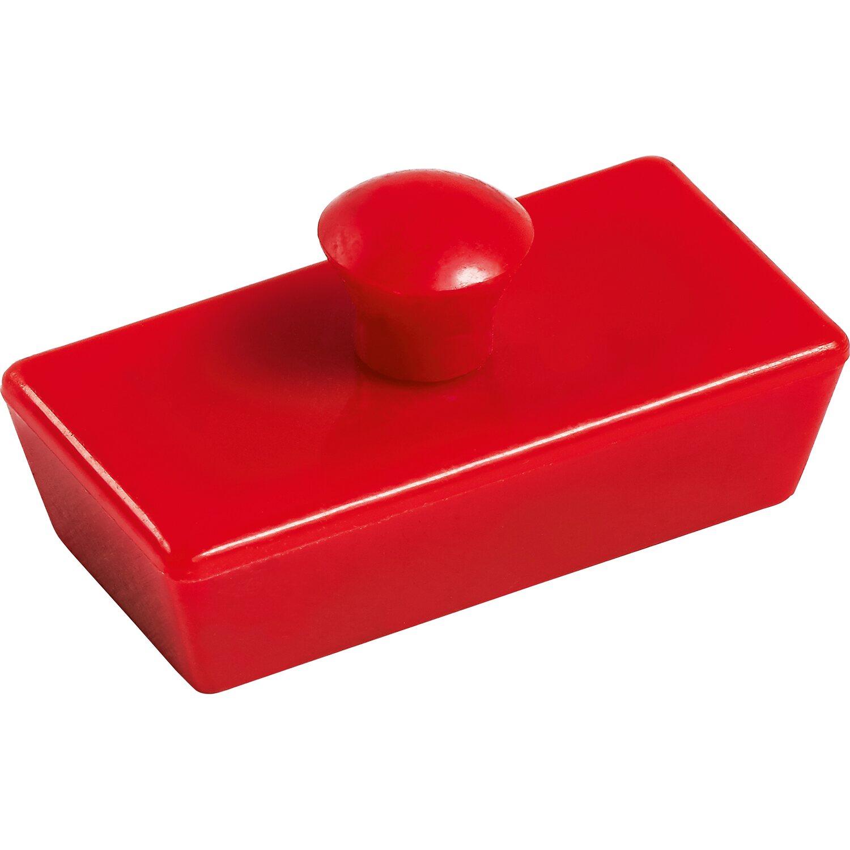 lux magnete rechteckig rot 4 st ck kaufen bei obi. Black Bedroom Furniture Sets. Home Design Ideas