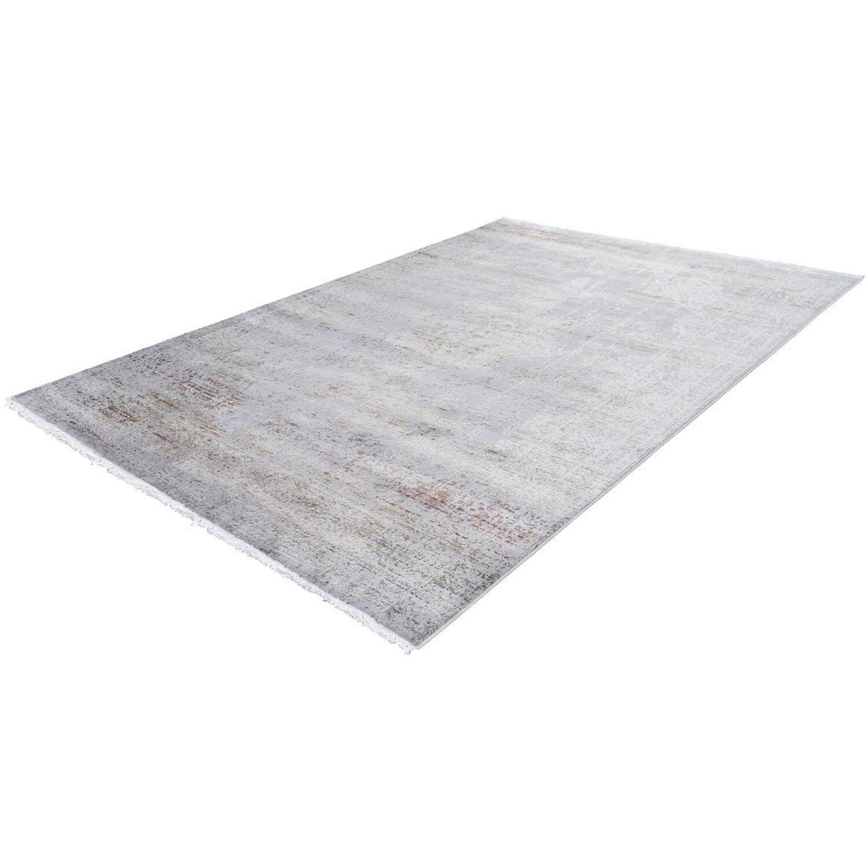 Kayoom Teppich Galapagos Genovesa Silber 140 cm x 190 cm   Heimtextilien > Teppiche > Sonstige-Teppiche   Acryl   Kayoom