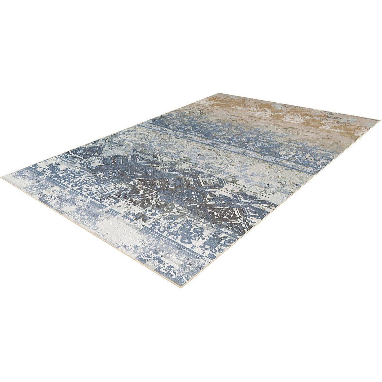 Arte Espina Teppich Flash 2707 Multicolor-Blau 120 cm x 170 cm   Heimtextilien > Teppiche > Sonstige-Teppiche   Filz - Chenille - Polyester   Arte Espina