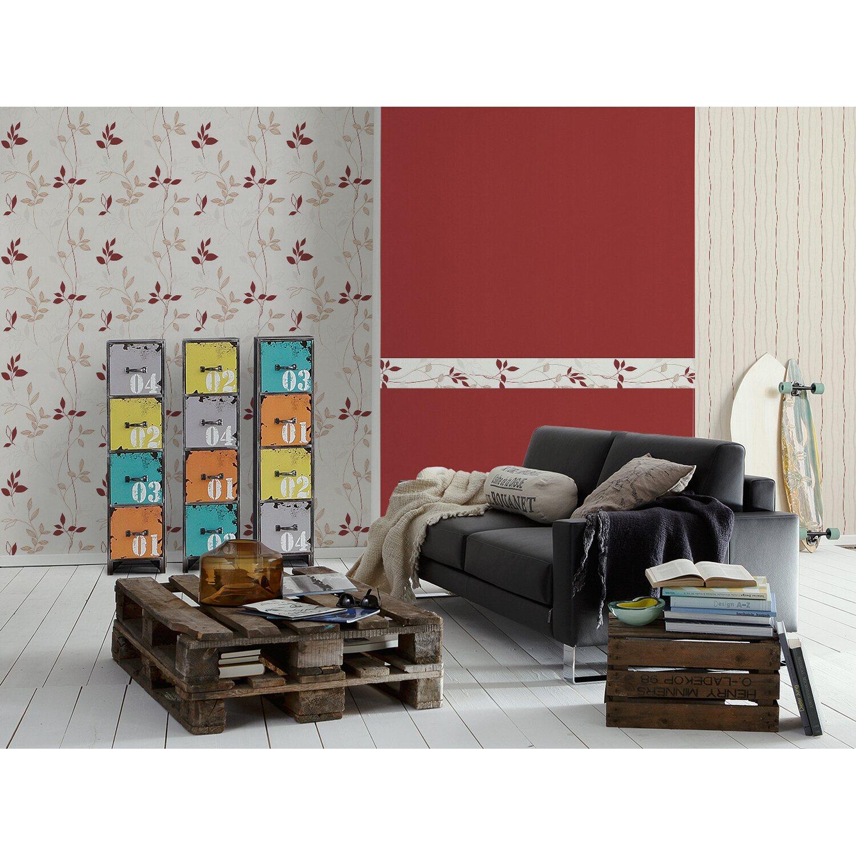 avenzio vliestapete blume rot kaufen bei obi. Black Bedroom Furniture Sets. Home Design Ideas