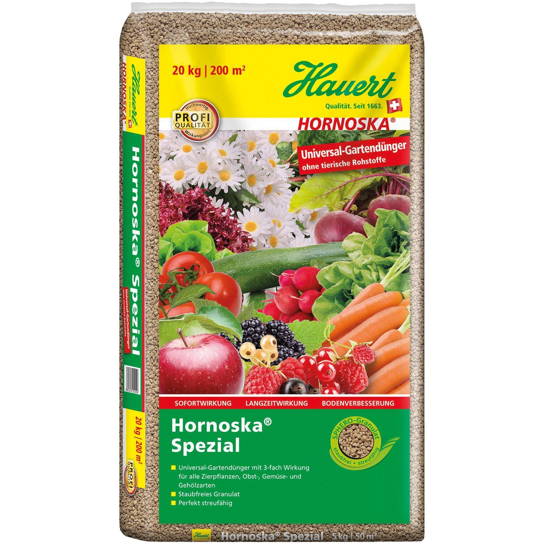 Hauert  Hornoska Spezial Universal-Gartendünger 20 kg