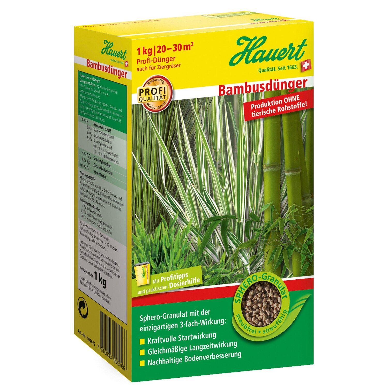 Hauert  Bambusdünger 2 x 1 kg