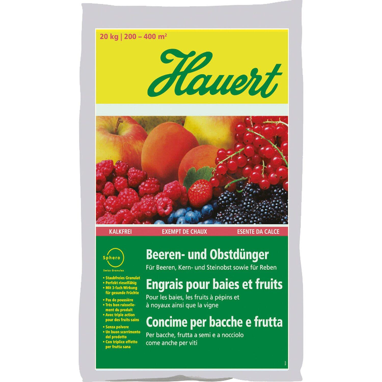 Hauert  Beeren- und Obstdünger 20 kg