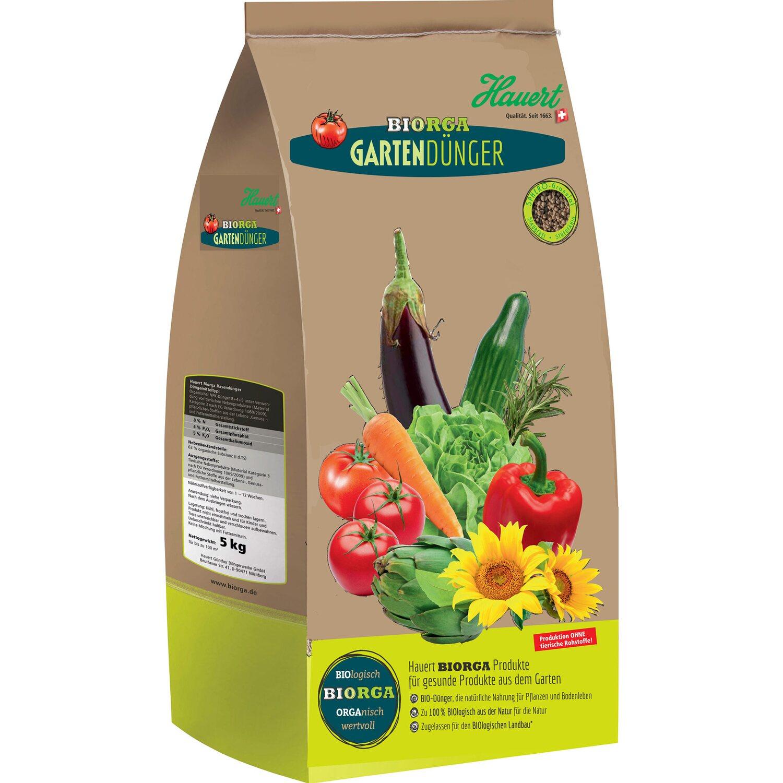Hauert  Biorga Gartendünger 5 kg