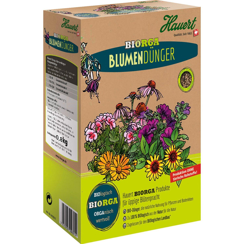 Hauert  Biorga Blumendünger 2 x 0,8 kg