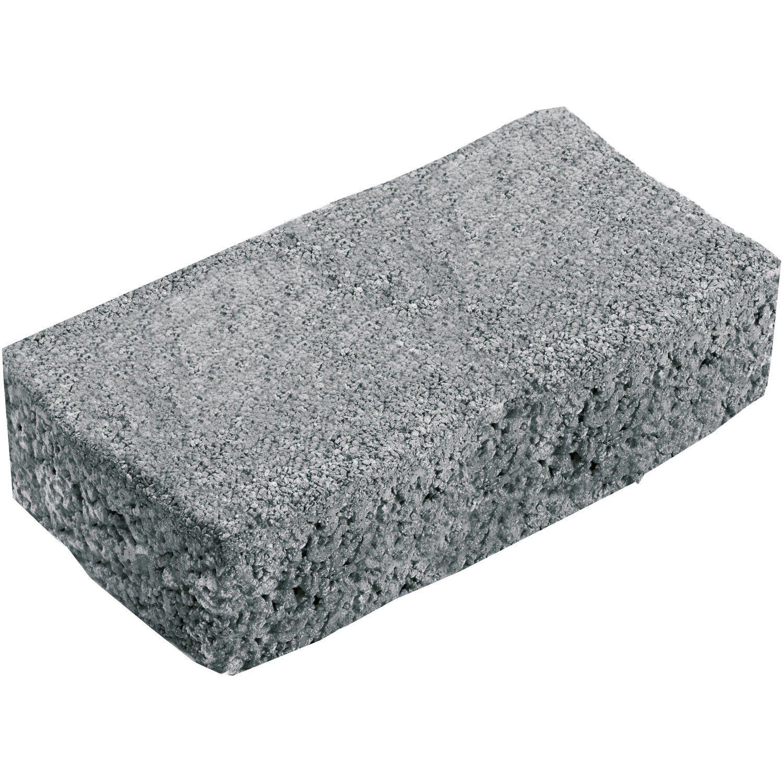 Klimapor-Pflaster Beton Rechteck Anthrazit 20 cm x 10 cm x 8 cm