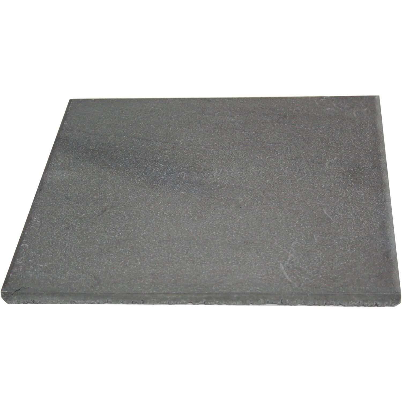 Terrassenplatte Beton Anthrazit 40 Cm X 40 Cm X 1 9 Cm Kaufen Bei Obi