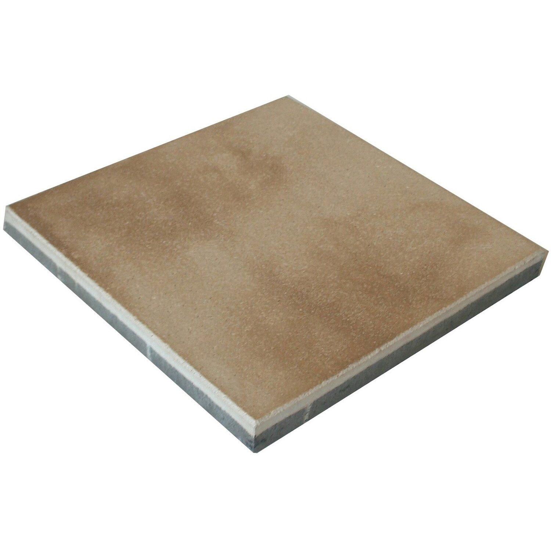 Sonstige Mesafinoplatte Beige-Braun 40 cm x 40 cm x 4 cm
