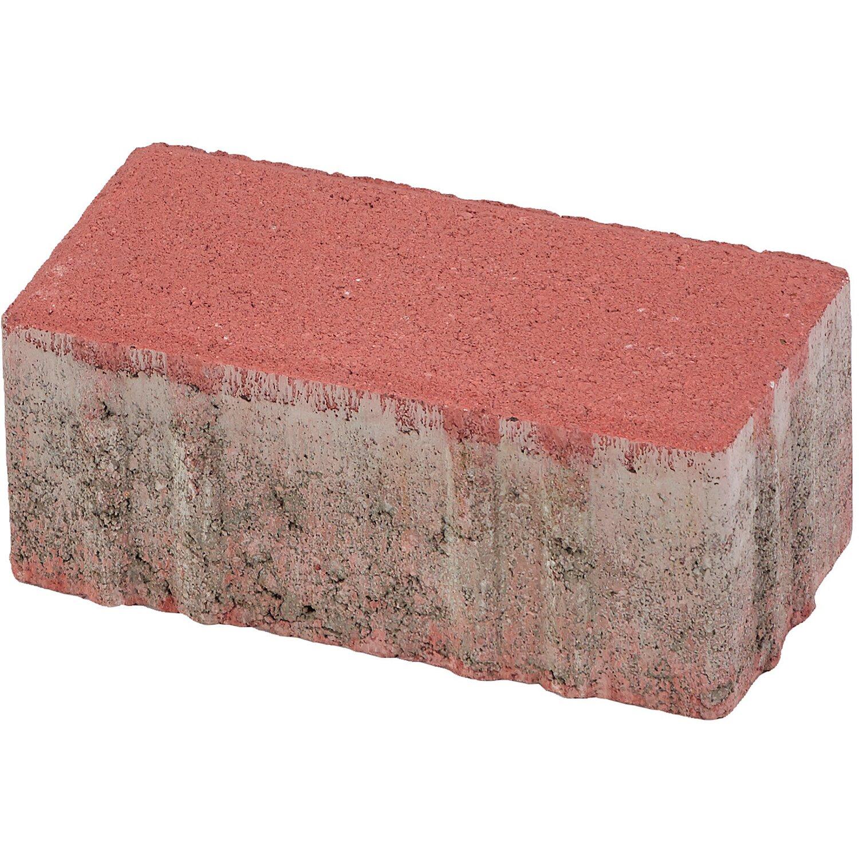 Rechteck-Pflaster Beton Rot 20 cm x 10 cm x 8 cm