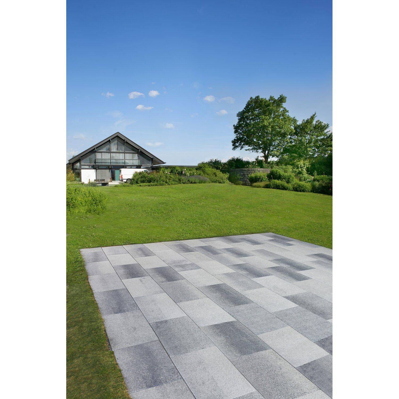 Terrassenplatte Sestino Beton Xl Grau Anthrazit Nuanciert 80 Cm X 40