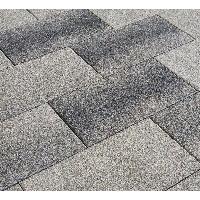 838f47a81d89e8 Terrassenplatte Sestino Beton XL Grau-Anthrazit-Nuanciert 80 cm x 40 ...