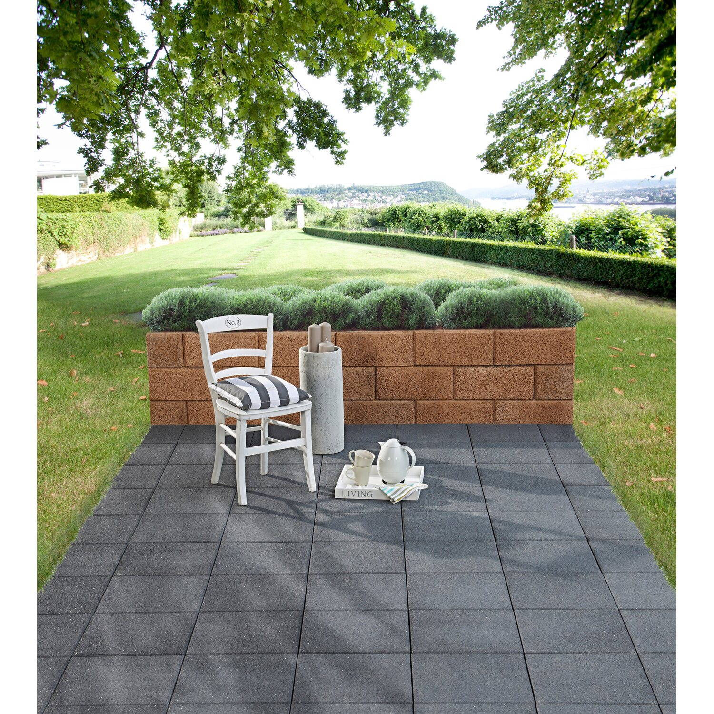 Gehwegplatten Anthrazit Terrassenplatten Anthrazit Online Kaufen - Gehwegplatten 40x40 günstig