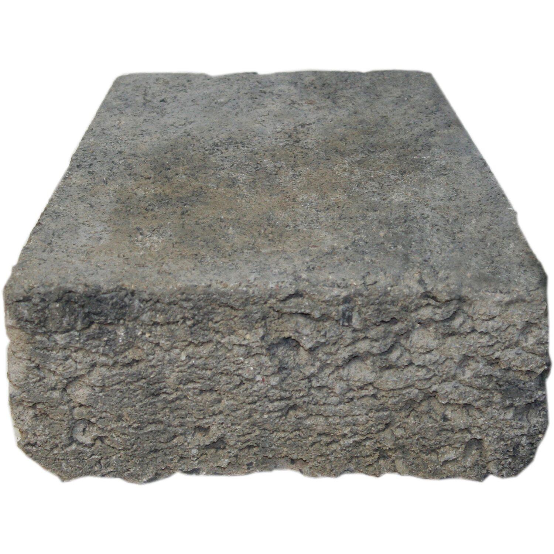 volantstone trapezstein grau anthrazit 22 cm x 15 cm x 10 cm kaufen bei obi. Black Bedroom Furniture Sets. Home Design Ideas