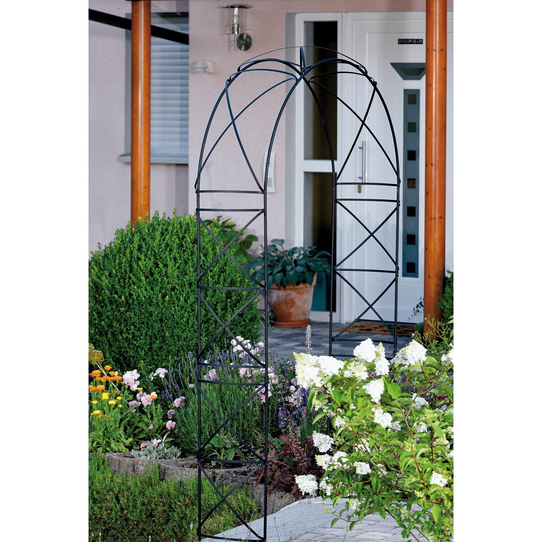 takasho rosenbogen alisa schwarz kaufen bei obi. Black Bedroom Furniture Sets. Home Design Ideas