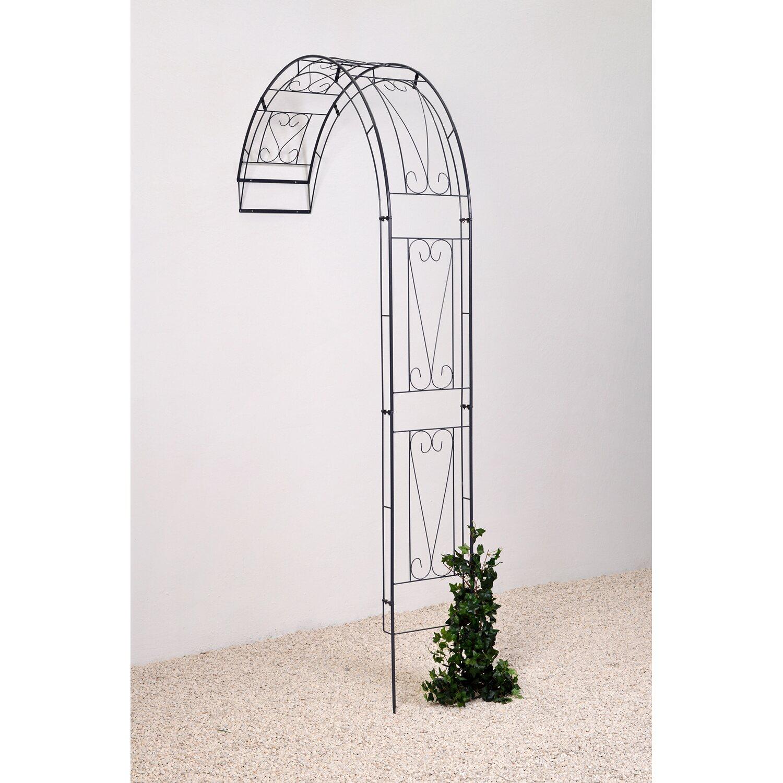 takasho wandrosenbogen baccara anthrazit kaufen bei obi. Black Bedroom Furniture Sets. Home Design Ideas