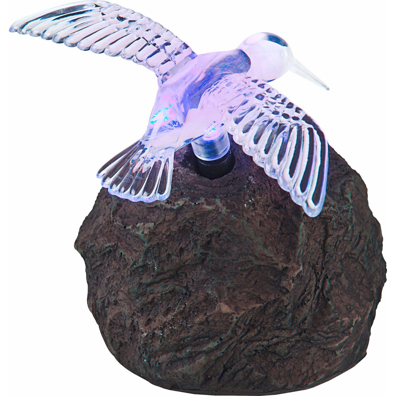 Globo Solarstein Kolibri mit Farbwechsler
