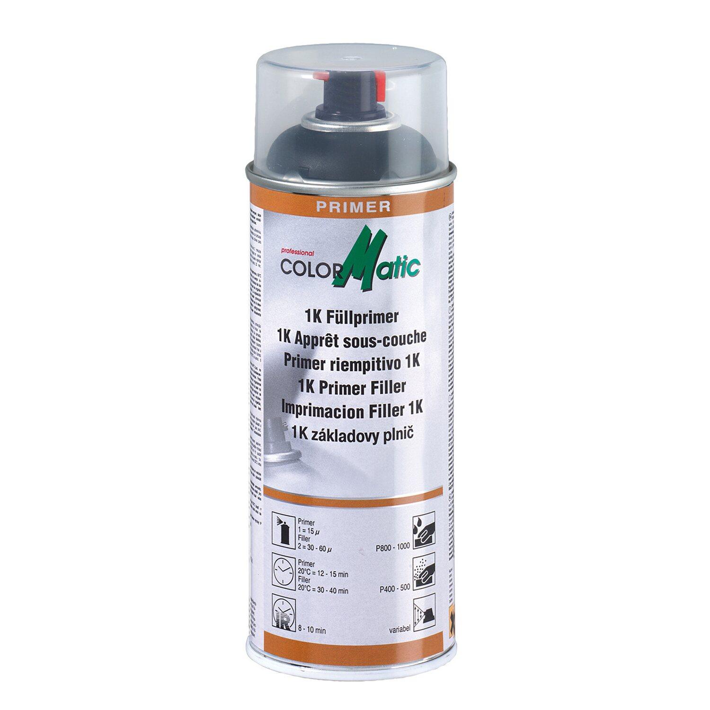 ColorMatic  Lackspray HG7 Füllprimer Schwarz 400 ml
