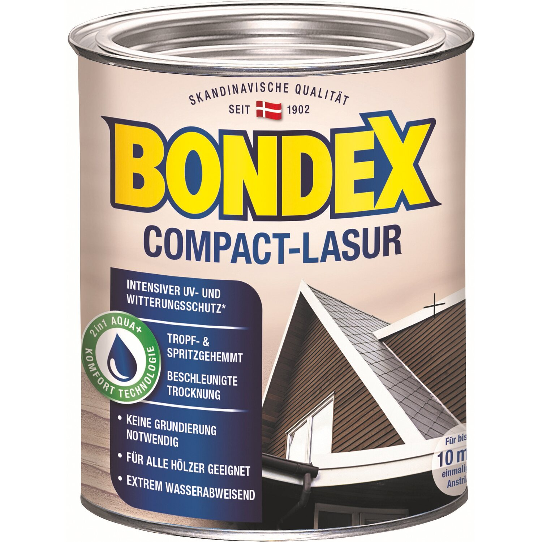 BONDEX Bondex Compact-Lasur Weiß 750 ml