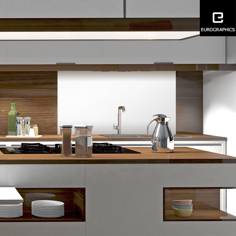 kitchen glas spritzschutz white splash guard 50 cm x 90 cm kaufen bei obi. Black Bedroom Furniture Sets. Home Design Ideas