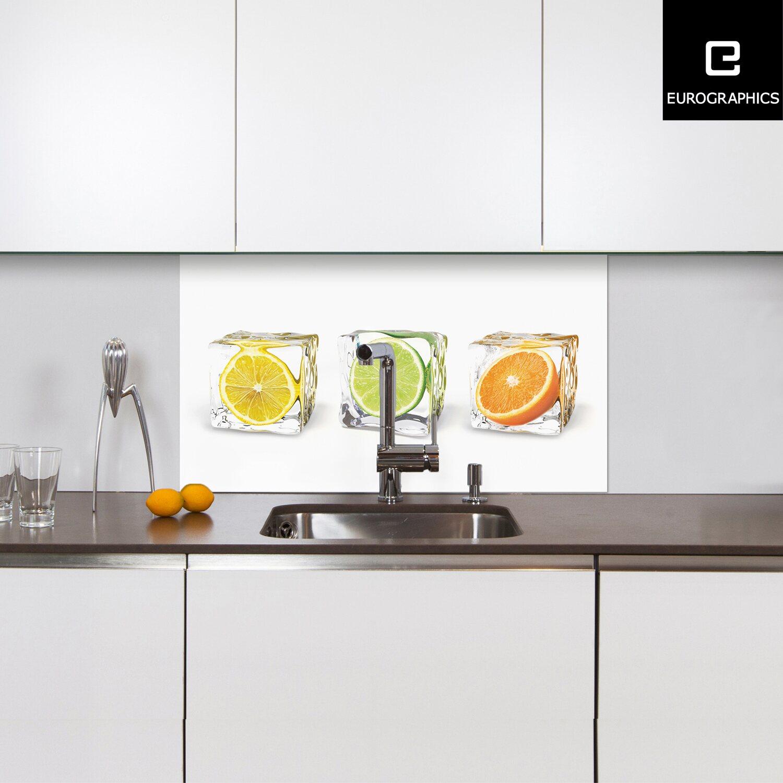 kitchen glas spritzschutz fruits in cubes 50 cm x 90 cm. Black Bedroom Furniture Sets. Home Design Ideas