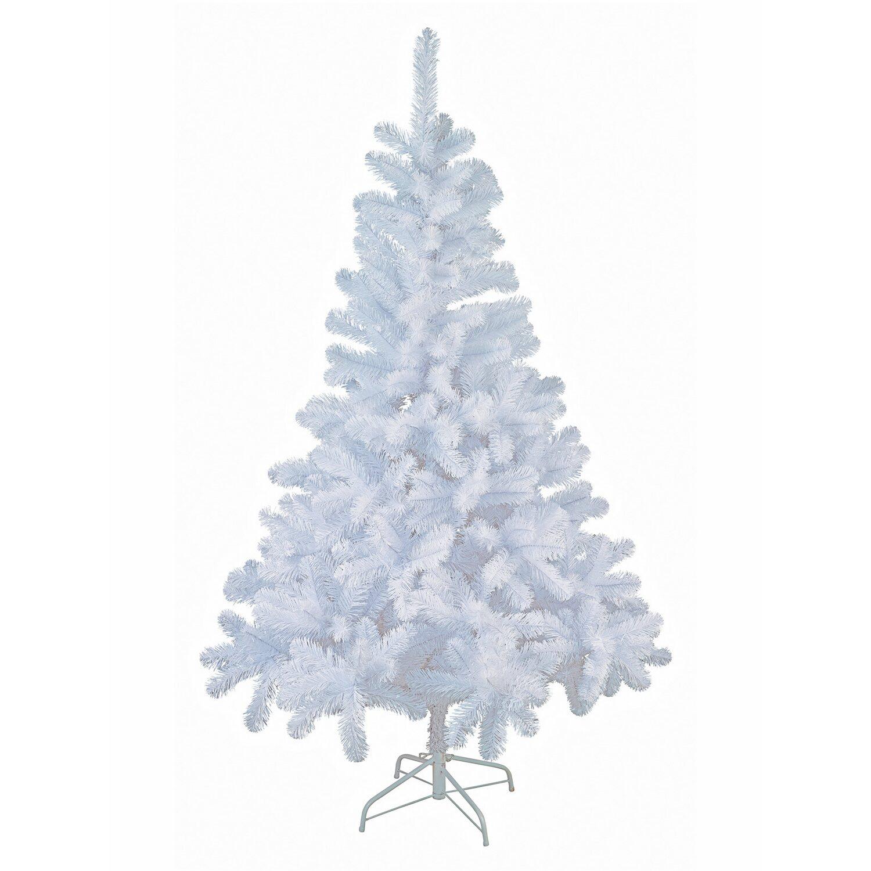 Künstlicher Tannenbaum 180.Künstlicher Weihnachtsbaum 180 Cm Weiß Kaufen Bei Obi
