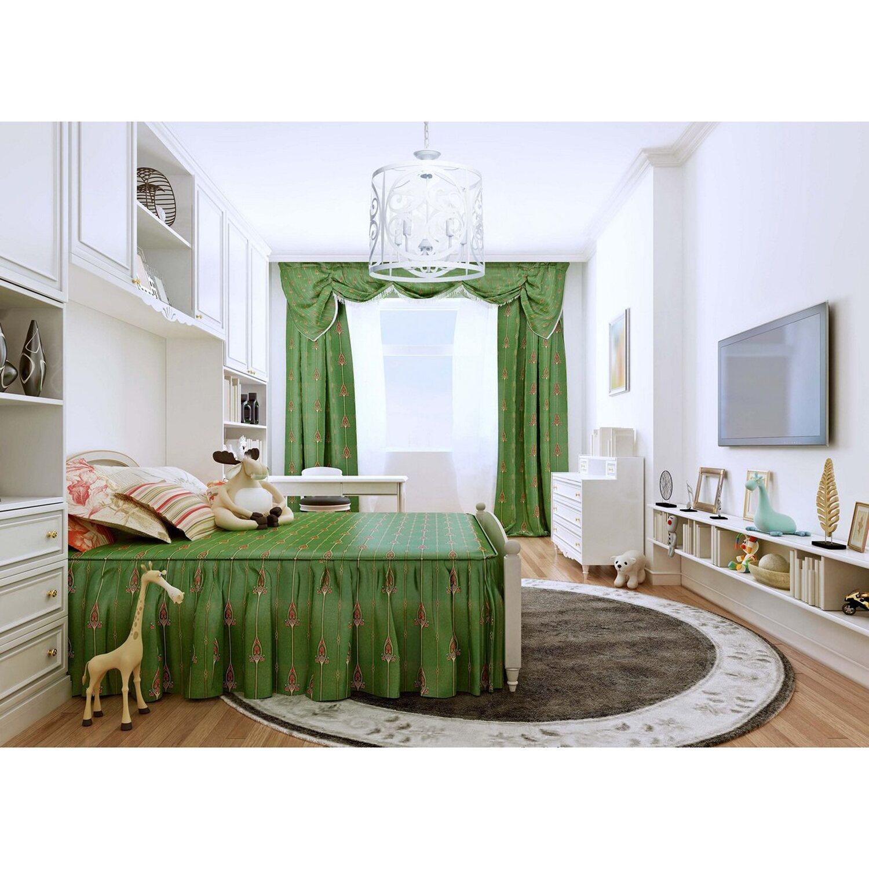 pendelleuchte chateau wei 45 cm eek e a kaufen bei obi. Black Bedroom Furniture Sets. Home Design Ideas