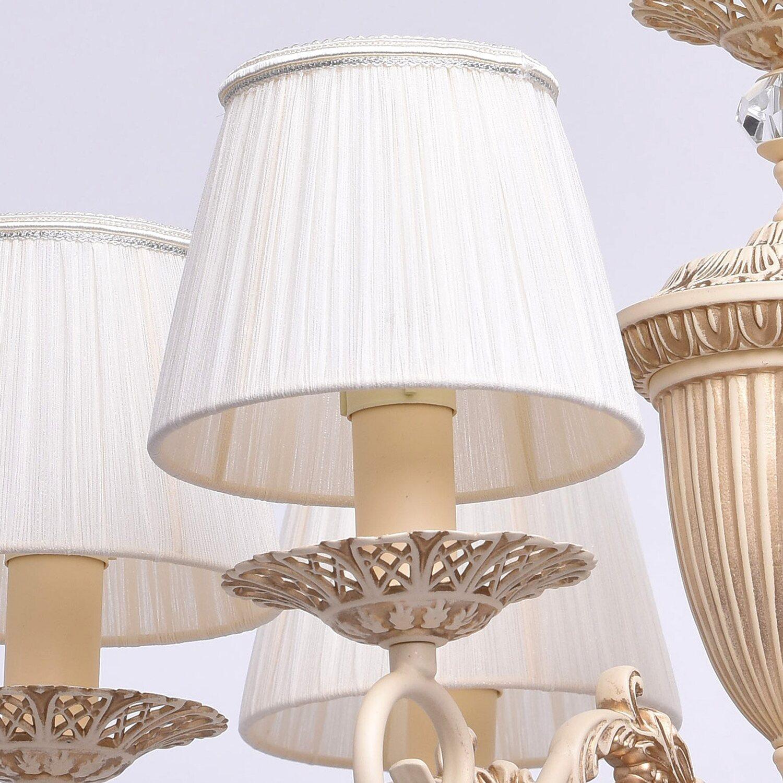 deckenleuchte ariadne 6 flammig beige eek e a kaufen bei obi. Black Bedroom Furniture Sets. Home Design Ideas