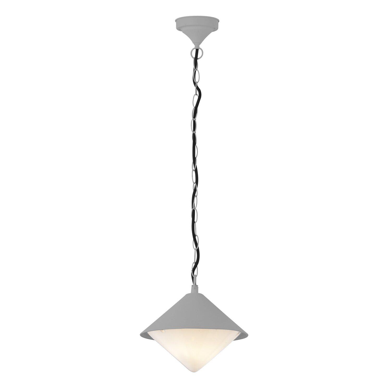 Außen-Deckenleuchte Manhattan Grau 1-flammig EEK: E-A++ | Lampen > Deckenleuchten > Deckenlampen | Action by Wofi