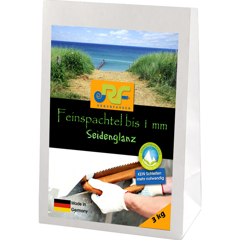 Rügenfarben Lehm-Kreide Feinspachtel 3 kg