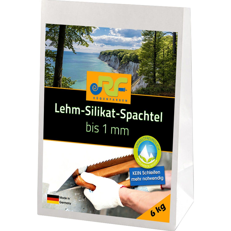Rügenfarben Lehm-Silikat Spachtel 6 kg