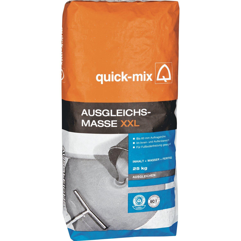 quick-mix ausgleichsmasse xxl bis 60 mm 25 kg kaufen bei obi