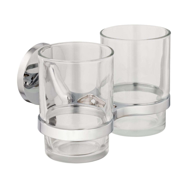 Cmi Zahnputzbecher Set S300 Mit 2 Bechern Aus Klarem Glas Kaufen Bei Obi